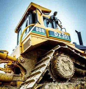 mid-sized excavator